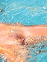 Alison Angel gets kinky in the pool