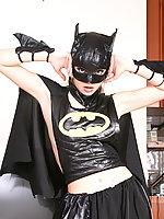 Kristina Fey is a naked super heroine