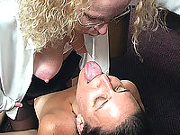 If cum is laying around they will suck it up