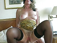 Blindfolded Cathy is used and creampied